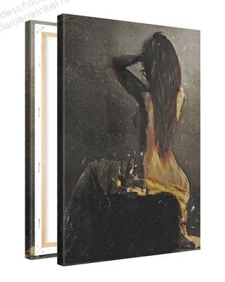 Schilderij Doorzien [MMFTP] (40x60cm)