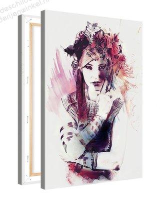 Schilderij Rouge Puik [MMFTP] (40x60cm)