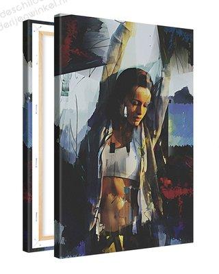 Schilderij Joelen [MMFTP] (40x60cm)