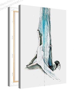 Schilderij Danser Parmantig [MMFTP] (40x60cm)