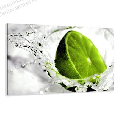 Schilderij Lemon (80x60cm)