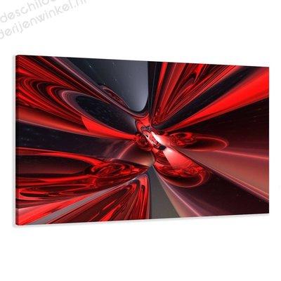 Schilderij Red dream (80x60cm)