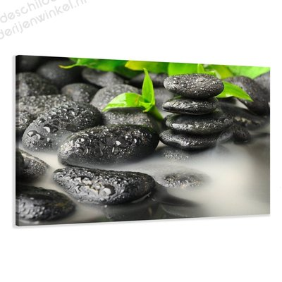 Schilderij Stones (80x60cm)