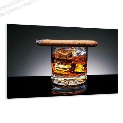 Schilderij Whiskey XL (120x80cm)