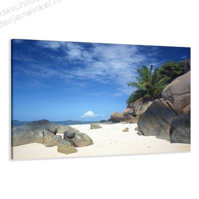 Schilderij Strand XL (120x80cm)