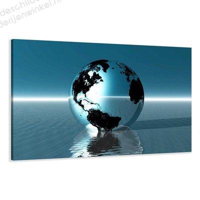 Schilderij Earth XL (120x80cm)
