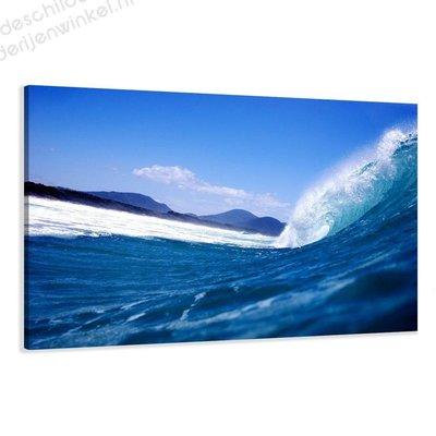 Schilderij Wave XL (120x80cm)