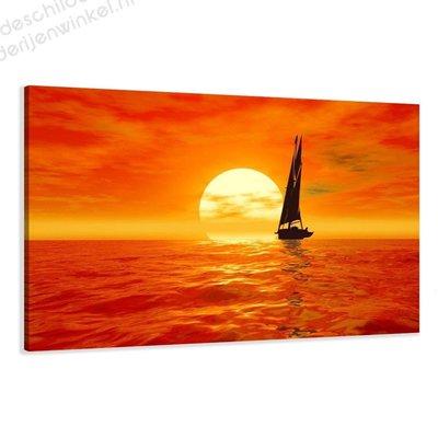 Schilderij Sailing Home XL (120x80cm)
