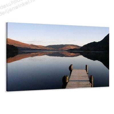 Schilderij Lake XL (120x80cm)