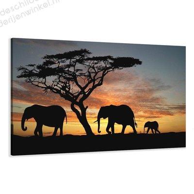 Schilderij Family XL (120x80cm)