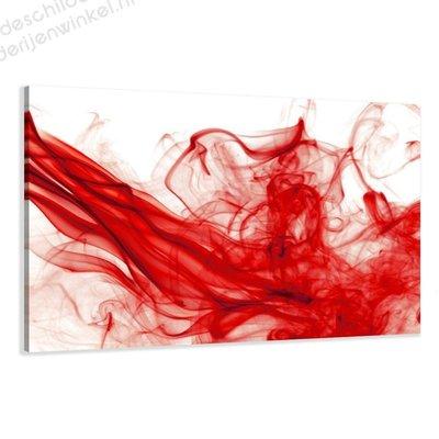 Schilderij Rode Mist XL (120x80cm)