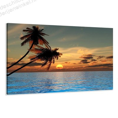 Schilderij Hawaii XL (120x80cm)