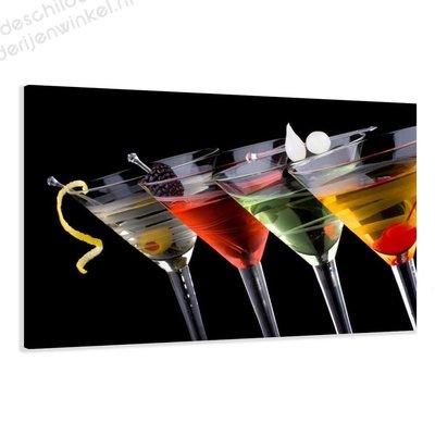 Schilderij Cocktail XL (120x80cm)