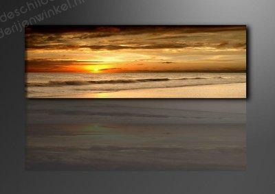 Schilderij Beach (120x40cm)