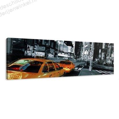 Schilderij New York Streets (120x40cm)