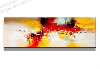 Schilderij Lightbird Abstract (120x40cm)