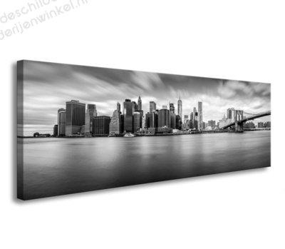 Schilderij New York Onyx (120x40cm)