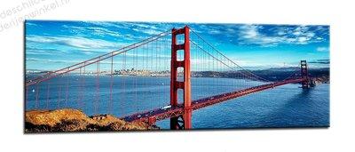 Schilderij San Francisco Golden Gate (120x40cm)