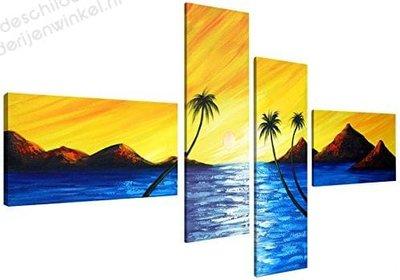 Schilderij Dreamtimes XL 4-delig (160x70cm)