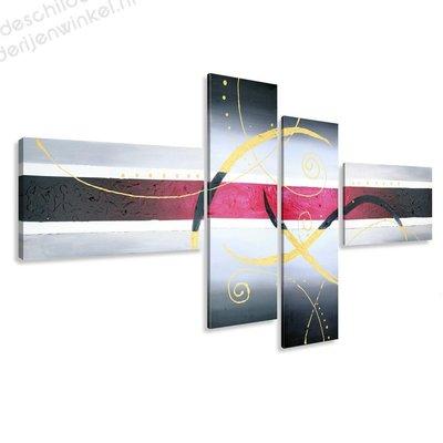 Schilderij Sakura XXL 4-delig (195x80cm)