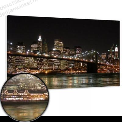 Schilderij Skyline van New York XL (120x80cm)