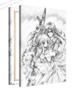 Schilderij Bescherming Schets Anime XL (80x120cm)