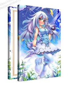 Schilderij Bliksem Fee Anime XL (80x120cm)