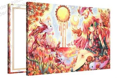 Schilderij Fuup Paradijs Anime XL (120x80cm)