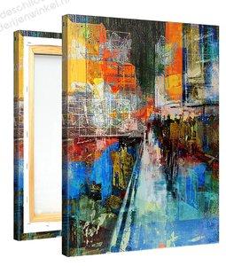Schilderij Sixth Avenue (75x100cm) [Premium Collectie]