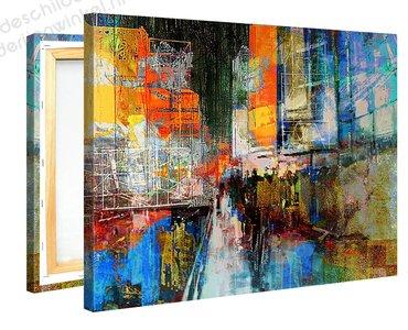 Schilderij Sixth Avenue (100x75cm) [Premium Collectie]
