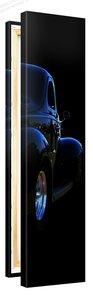 Schilderij Hot Rod Blue (30x120cm) [Premium Collectie]