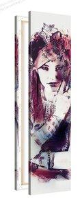 Schilderij Rouge Puik [MMFTP] (30x120cm)