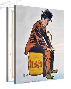 Schilderij Charlie Chaplin (75x100cm)