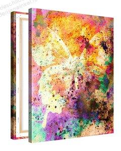 Schilderij Vlinder (75x100cm)