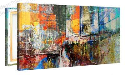 Schilderij Sixth Avenue (100x50cm)