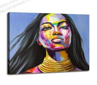 Schilderij Indra (80x60cm)