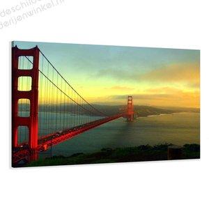 Schilderij San Francisco Bridge XL (120x80cm)