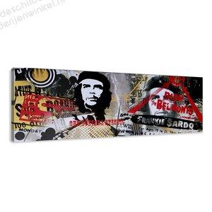 Schilderij Che Guevara (120x40cm)