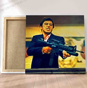 Scarface Tony Montana Schilderij vanaf €15 (GRATIS VERZENDING)